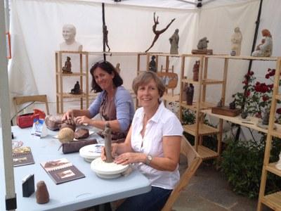 Nathalie de Williencourt et Isabelle Levesque sculpteurs  (1)