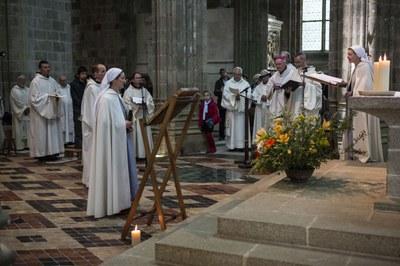 11 Professions perpétuelles sr Anne et fr Jean-Gabriel