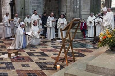 5 Professions perpétuelles sr Anne et fr Jean-Gabriel
