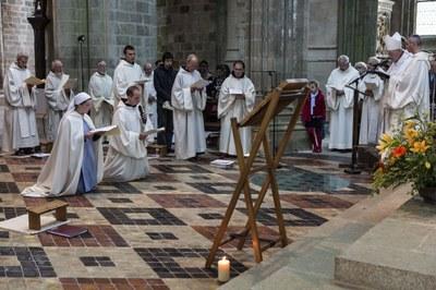 6 Professions perpétuelles sr Anne et fr Jean-Gabriel