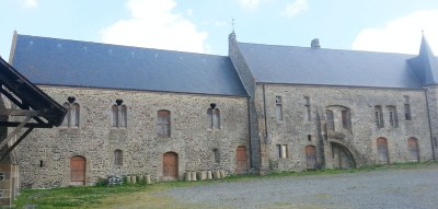 Prieuré d'Ardevon, logis XIII au XVIè siècle